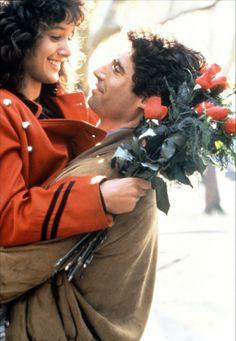Michael Nouri and Jennifer Beals in Flashdance (1983)