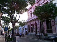 Calle Uruguay en el Departamento de  Salto.
