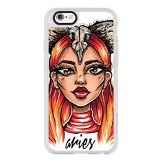 iPhone 6 Plus/6/5/5s/5c Case - Aries - Zodiac Series ($40) ❤ liked on Polyvore featuring accessories, tech accessories, iphone case, iphone cases, iphone hard case, apple iphone cases and iphone cover case