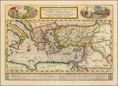 Peregrinationis Divi Pauli Typus Chorographicus . . . - Barry Lawrence Ruderman Antique Maps Inc.