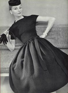 1956. Uncle N married a Vogue model, Anne. We visited them often at Sutton Place. She was beautiful, and warmhearted and down to earth…