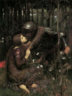 John William Waterhouse: La Belle Dame Sans Merci - 1893