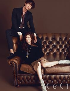Kim Young Kwang and Jung So Min - Her outfit is so sophisticated!