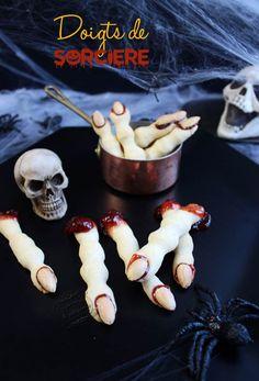 recette halloween doigts
