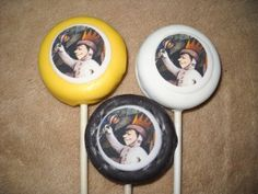 1 chocolate where the wild things are edible decal oreo favor lollipop | sapphirechocolates - Edibles on ArtFire