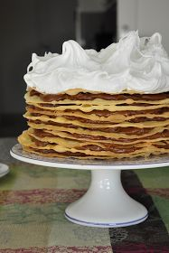 Este domingo de Pascuas tuve un pedido especial y aquí les va la receta de esta torta que es la favorita de los amantes del dulce de leche. ...