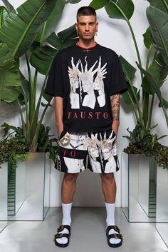 Fausto Puglisi Spring 2018 Menswear Fashion Show Collection