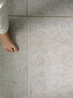 DIY - How to clean your grout + safe and super easy Grout Cleaner Recipe!