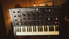Polivoks Polyvox Vintage BEST soviet Analog Synthesizer USSR Moog Prophet #polivoks Moog Synthesizer, Drum Machine, Music Instruments, Ebay, Vintage, Musical Instruments, Vintage Comics