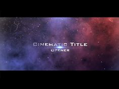 Best After Effects Templates Images On Pinterest After - Adobe after effects title templates