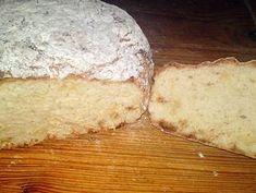 Ír kenyér - élesztőmentes gyors kenyér | Iby Meszarosova receptje - Cookpad receptek Camembert Cheese, Dairy, Bread, Food, Brot, Essen, Baking, Meals, Breads