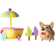 Chubby Puppies and Friends Husky Ice Cream Cart, Multicolor Best Birthday Gifts, Birthday Gifts For Girls, Funny Walk, Chubby Puppies, 4 Year Old Girl, Ice Cream Cart, Baby Alive, Husky Puppy, Toy Organization