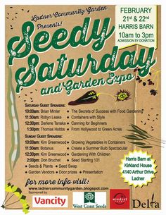 seed swap poster - Google Search