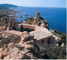 Alberto Ponis - Casa Gostner, Costa Paradiso, Sardinia 1998