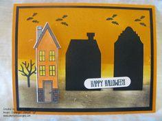 Simply Encouragink: Halloween Houses