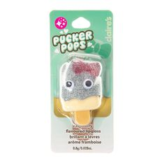 Raspberry Flavoured Pucker Pops Lipgloss