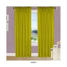 4-Pack: Elegant Curtain Panels with Rod Pocket - Assorted Colors