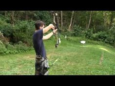 Tips to Improve Archery Accuracy (Video) Archery Gear, Archery Hunting, Archery Lessons, Bow Hunter, Hunting Stuff, Bowhunting, Outdoor Stuff, Feathers, Badge