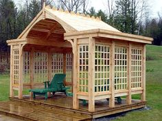 MEET ME IN THE GARDEN... NielsJensenCabinetMaker.com This would be awesome any where!