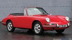 First Porsche 911 Convertible prototype