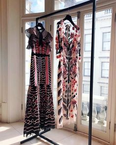 The Canopy Evening Dress and Pardus Fitted Dress by Alice Temperley available at Fenwick, Bond Street
