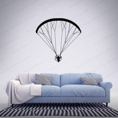 PPG Powered Paramotor - Front 1 - Vinyl Decal / Sticker