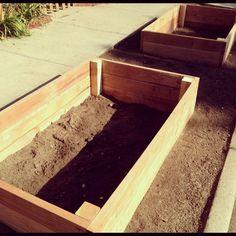 Planter bed install
