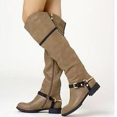 over the knee flat boots - Google Search