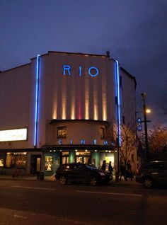 Rio Cinema, Dalston. April '12