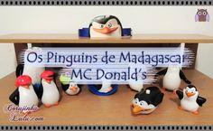 #Coleção dos #PinguinsDeMadagascar do #McLancheFeliz 2015 - #McDonalds