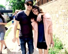 """"""" Paul Wesley spends Phoebe's birthday with her and her sister. (July 12th.) """""""