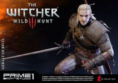 The Witcher 3 - Geralt of Rivia Statue by Prime 1 Studio - The Toyark - News #TheWitcher3 #PS4 #WILDHUNT #PS4share #games #gaming #TheWitcher #TheWitcher3WildHunt