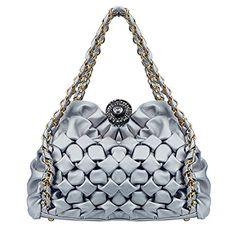 Bagoddess Ladies Accessories Elegent Designer Lattice Shoulder CrossBody Handbag(C2) ** You can find more details by visiting the image link.