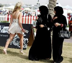 Culture clashes. Things You See Everyday In Dubai