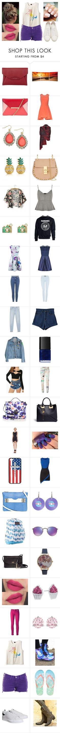 """0217"" by doglover43 ❤ liked on Polyvore featuring Givenchy, Elementem Photography, MICHAEL Michael Kors, Alice + Olivia, Thalia Sodi, MBLife.com, Chloé, River Island, Accessorize and Closet"