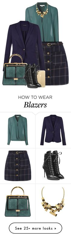 """""""Suede bag"""" by danigrll on Polyvore featuring Mode, Glamorous und Giuseppe Zanotti"""