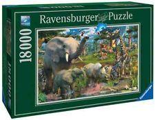 Ravensburger 18000 Piece Big Jigsaw Puzzle 'Waterhole' New | eBay $99.00   WOW!
