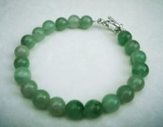 Green Aventurine Bracelet by FairyInTheForest on Etsy, $13.00