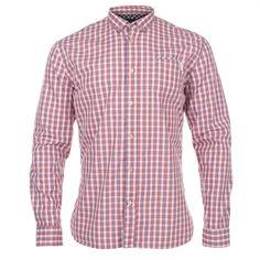 Paul Smith Shirts - Classic Fit Red Check Shirt  - jfcj-563g-740-x