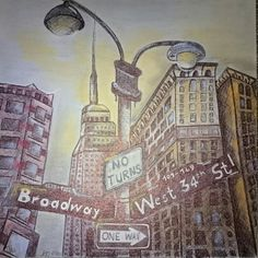 New York - Kuli und Kreide
