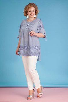 Коллекция женской одежды больших размеров белорусского бренда Liliana весна-лето 2018
