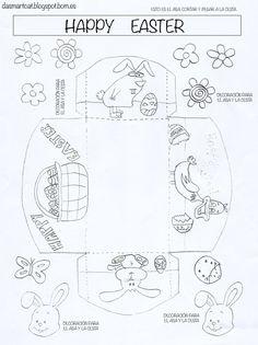 Actividades realizadas para la clase de Inglés sobre Easter. Manualidades, historias y más. Ideal para los más pequeños.
