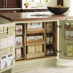 Incredible Cabinet Space