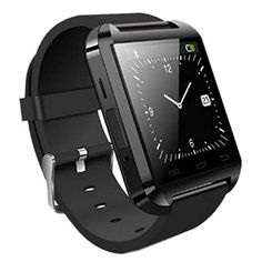 Luxsure®Bluetooth Smart Watch WristWatch U8 UWatch Fit for Smartphones IOS Android Apple iphone 4/4S/5/5C/5S Android Samsung S2/S3/S4/Note 2/Note 3 HTC Sony Blackberry(Black)
