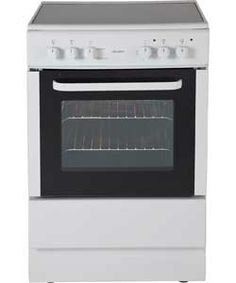 Bush BESC60W Single Electric Cooker - White.