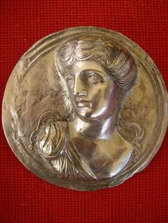 A Phalera, a medal of honor given to the bravest soldiers among the Roman legionnaire