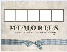 collage style cute photo frame