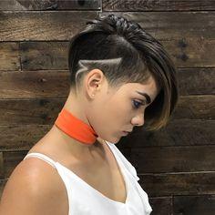 Pin on Hipster hairstyles Pin on Hipster hairstyles Short Hair Undercut, Undercut Hairstyles, Short Hair Cuts, Undercut Pompadour, Hipster Hairstyles, Vintage Hairstyles, Haare Tattoo Designs, Medium Hair Styles, Short Hair Styles
