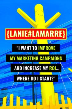 We all want the best return-on-investment - or what the cool kids call an ROI - on our promotional efforts and campaigns. Let's improve your marketing campaigns and help you see better dividends on the time, money and energy you're investing in your business. // Lanie Lamarre - OMGrowth