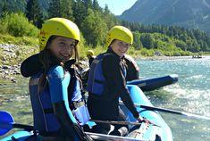 Lechtal - Kinder Rafting  mit Nature Adventure Rafting, Kids
